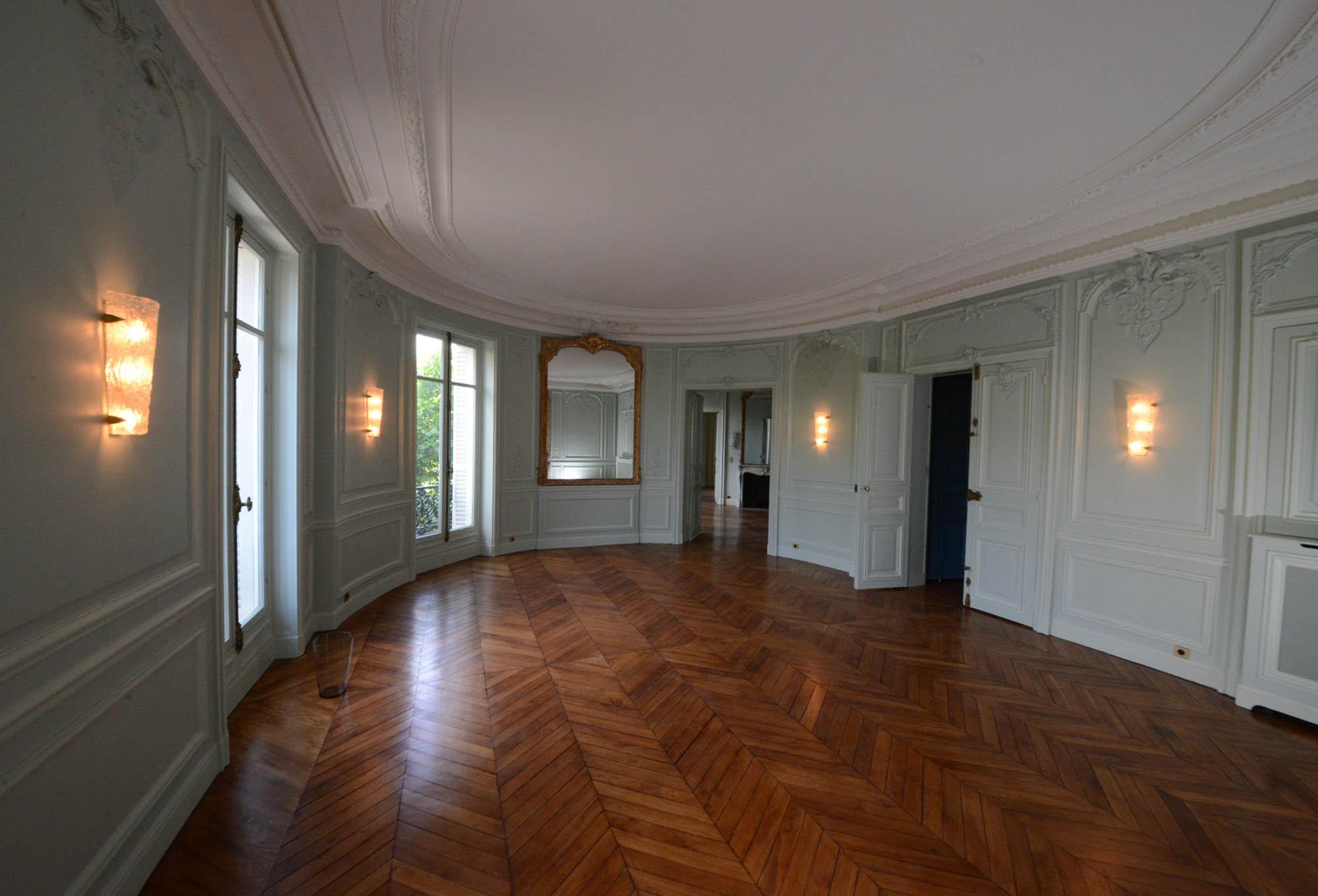 Appartement haussmannien paris 17 me atelier de la for Parquet carrelage paris 17